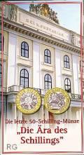 50 öS 2001 Die Ära des Schillings hg (Blister)