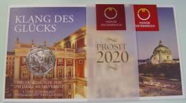 5 Euro Österreich 2020 - 150 Jahre Musikverein - im Blister