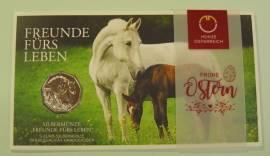 5 Euro Österreich 2020 - Freunde fürs Leben / Pferdemotiv - im Blister