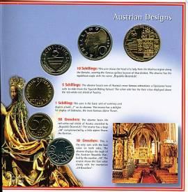 Österreich Kursmünzensatz 1998 stgl - Bild vergrößern
