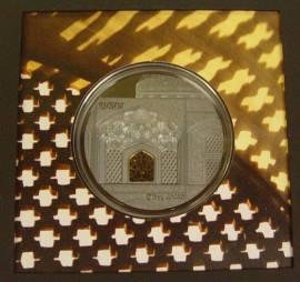 Palau 25 $ 2020 - Tiffany Art Isfahan - Proof 5 oz Silber