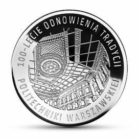 Polen 10 Zloty -100 Jahre Technische Universität Warschau - 2015