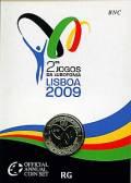 2 € Portugal 2009 - Lusophonie Spiele  - im Blister