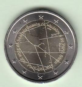 2 € Portugal 2019 - 600 Jahre Entdeckung Madeira - bfr.