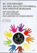 2 € Portugal 2008 - 60 Jahre Menschenrechte - im Blister