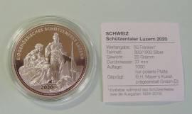 Schweiz 50 Sfr. Schützentaler Luzern 2020