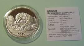Schweiz 50 Sfr. Schützentaler Luzern 2021