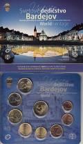 Slowakei KMS 2014 - Unesco Weltkulturerbe: Bardojev  - stgl.