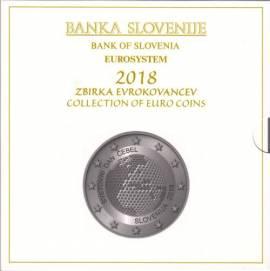Slowenien KMS 2018 - inkl. 3 € und 2 € Sonderprägung - stgl.