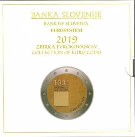 Slowenien KMS 2019 - inkl. 3 € und 2 € Sonderprägung - stgl.