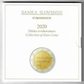Slowenien KMS 2020 - inkl. 3 € und 2 € Sonderprägung - stgl.