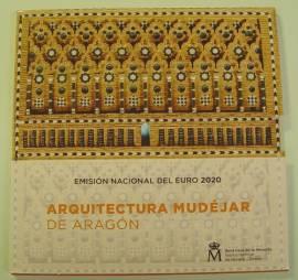 Spanien KMS 2020 mit 2 € Mudéjar Architektur stgl.