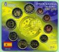 Spanien KMS 2012 - incl. 2 € Burgos + 2 € Bargeld - stgl.