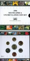 Offizieller Kursmünzsatz Südafrika 2006 BU