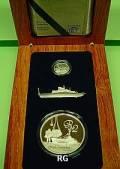 Südafrika 2010 - Postschiffesatz - 2 tgl. Silber PP
