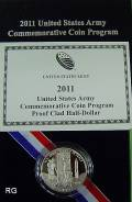 USA 1/2 $ 2011 - United States Army - proof