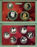 KMS, Cent-, Quarter-  und  Dollarserie Präsidenten 2009 PP in Silber