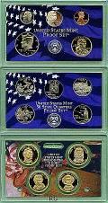 KMS, Quarter- und Dollarserie Präsidenten 2008 PP (Defekt)