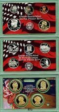 KMS, Quarter- und Dollarserie Präsidenten 2008 PP in Silber