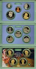 KMS, Quarter-  und  Dollarserie Präsidenten 2010 PP