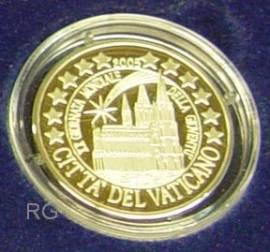 2 Euro Vatikan 2005 Weltjugendtag in Köln - Geschenkset - - Bild vergrößern