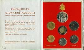 Vatikan offizieller KMS 1988 stgl. - Bild vergrößern