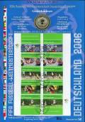 Numisblatt  WM/2003 Fussball WM 2006