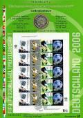 Numisblatt  WM/2005 Fussball WM 2006