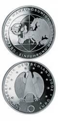 10 € Deutschland 2002 - Währungsunion - bfr.