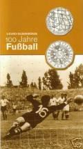 5 Euro Österreich 100 J. Fußball 2004 im Blister