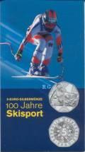 5 Euro Österreich Skisport 2005 im Blister