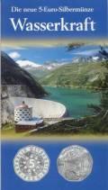5 Euro Österreich Wasserkraft 2003 im Blister