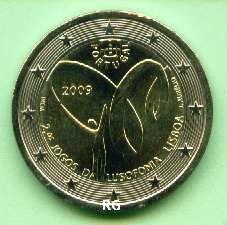 2 € Portugal 2009 - Lusophonie Spiele  -