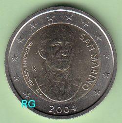2 Euro San Marino 2004 - Bartholomeo Borghesi - Kapsel