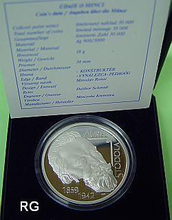 10 €  Slowakei 2009 - 150. Geb. Aurel Boreslav Stodola - PP