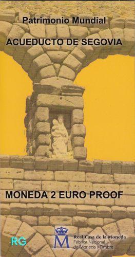 2 € Spanien 2016 - Aquädukt von Segovia - PP