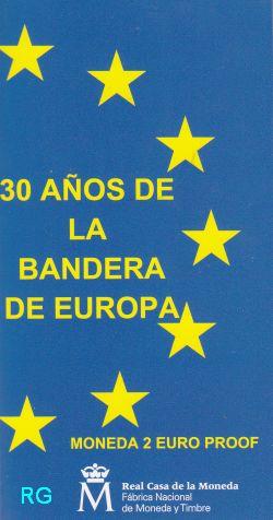 2 € Spanien 2015 - 30 Jahre EU-Flagge - PP