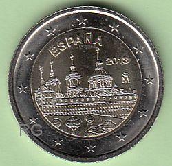 2 € Spanien 2013 - Kloster El Escorial - bfr.